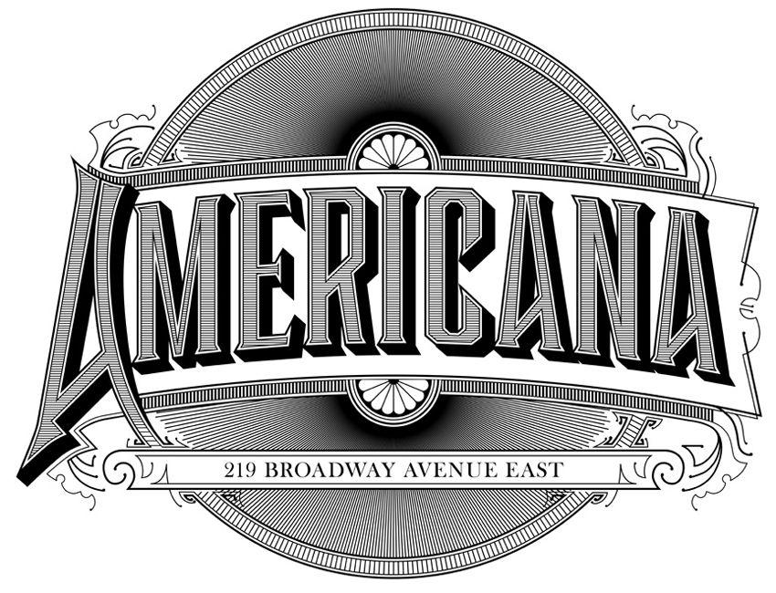 Americana Ross McCampbell Americana, Typography, Buick