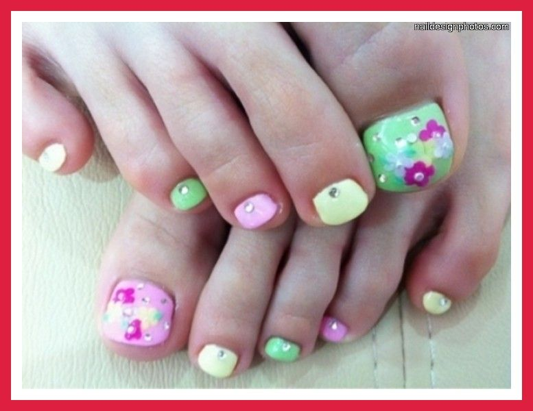 Summer Toenail Design Ideas | Summer Toe Nail Designs 2012 Pictures Photos  Video Pictures 8