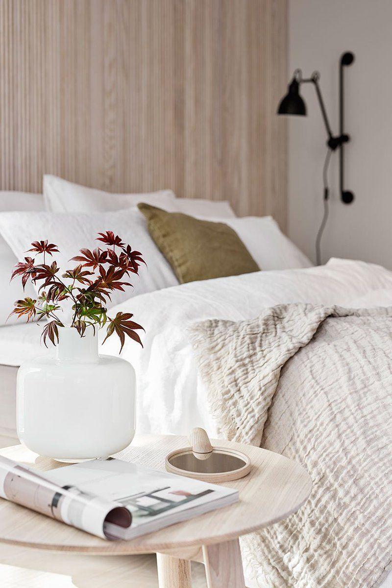 Succombez au style japandi  Decor chambre a coucher, Deco