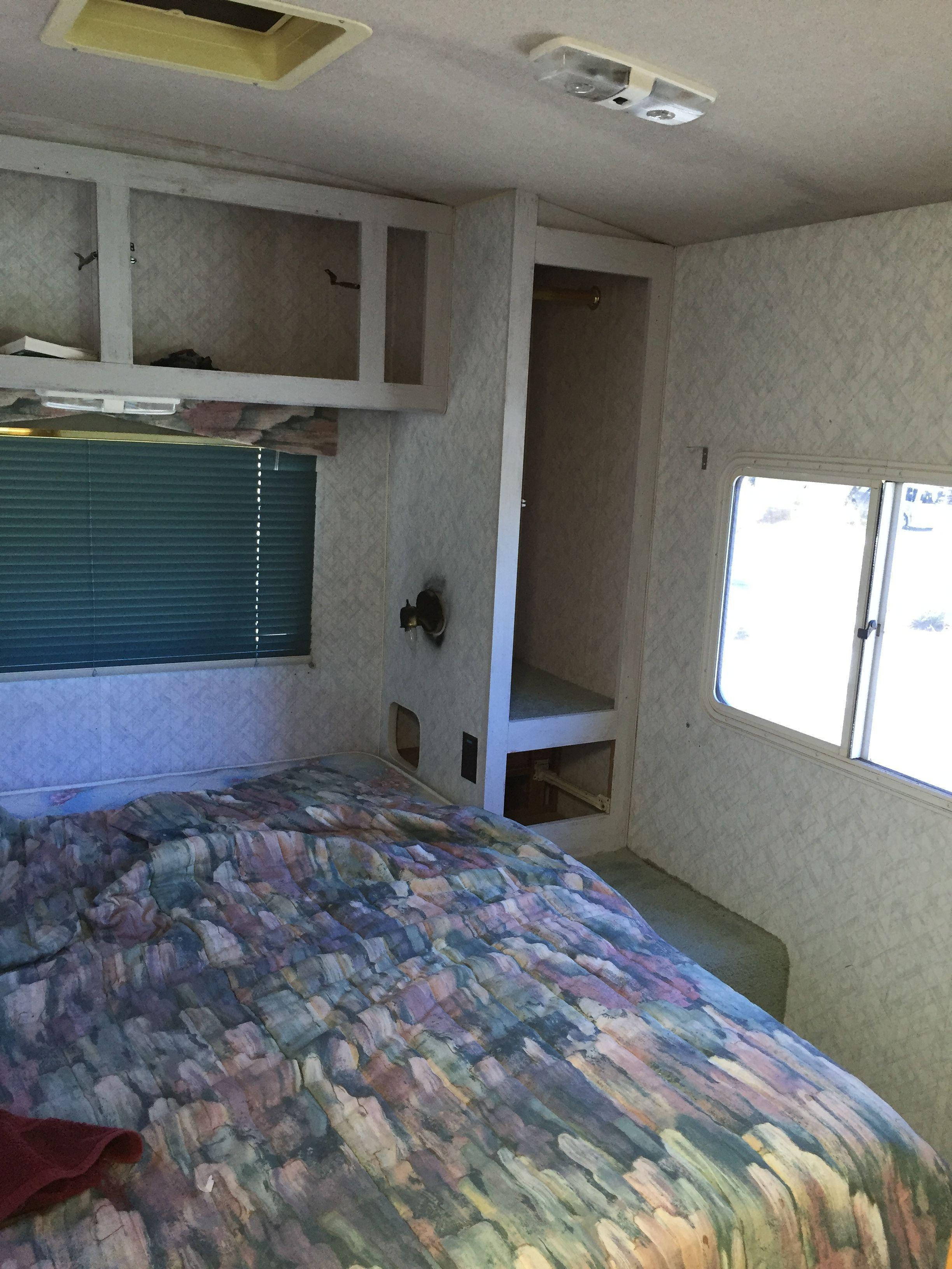 Bedroom during renovation