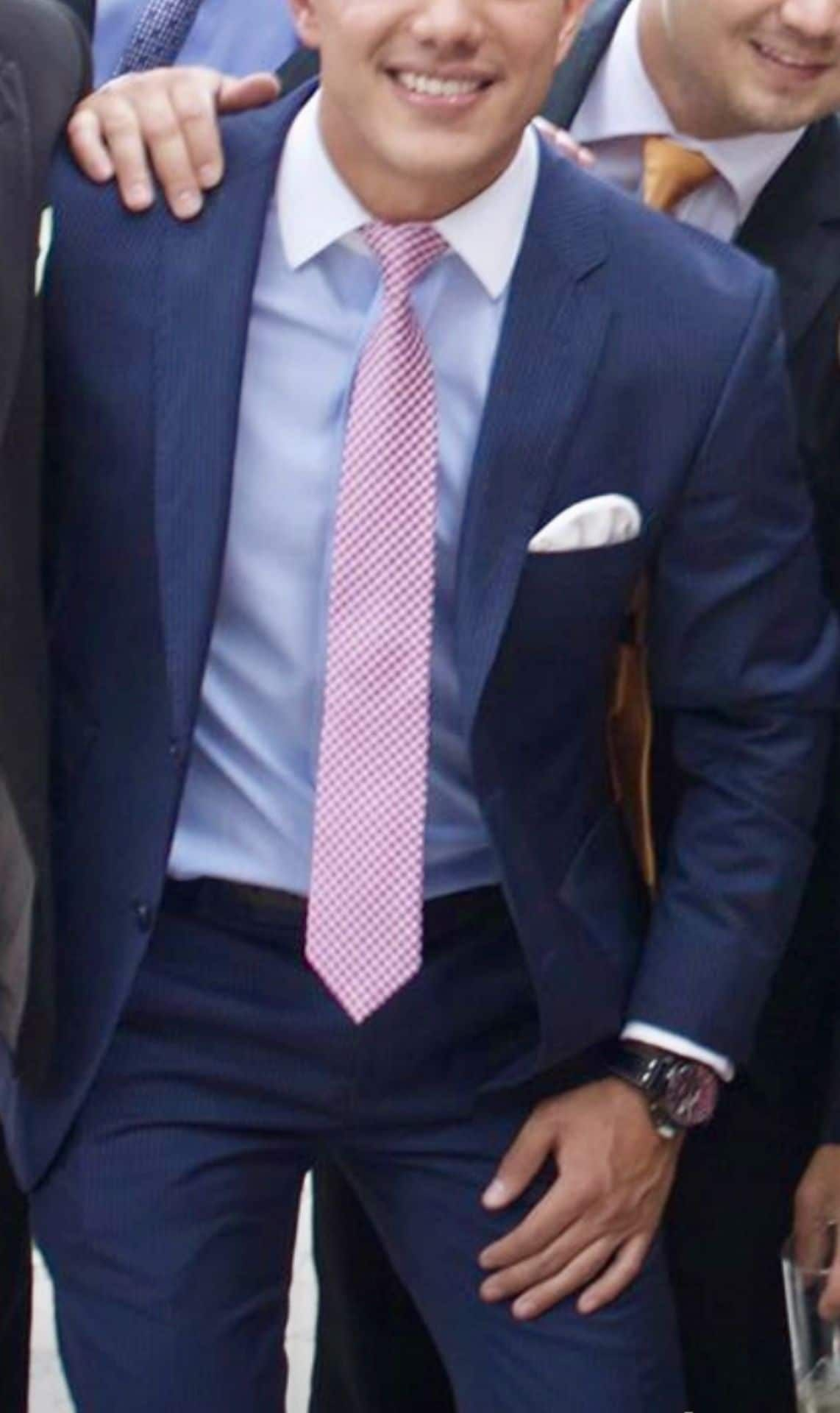 How To Match Your Tie With A Blue Shirt The Ultimate Guide Blue Suit Men Best Blue Suits For Men Navy Blue Suit Men