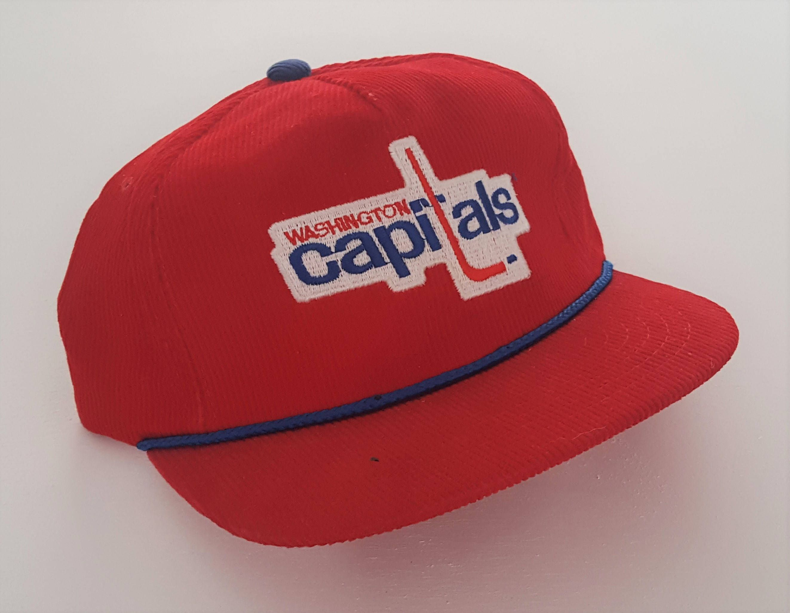 Vintage Washington Capitals Ted Fletcher Snapback Hat NHL VTG by  StreetwearAndVintage on Etsy 61ec53e8985