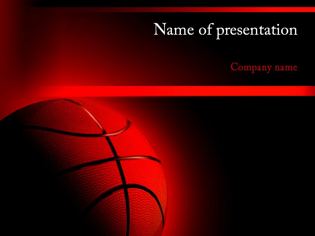 Nba Game Powerpoint Template Templates Powerpoint Powerpoint Templates
