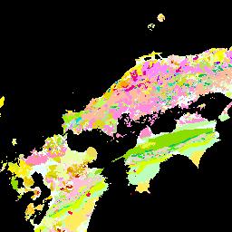Seamless Digital Geological Map Of Japan 岩石 鉱物
