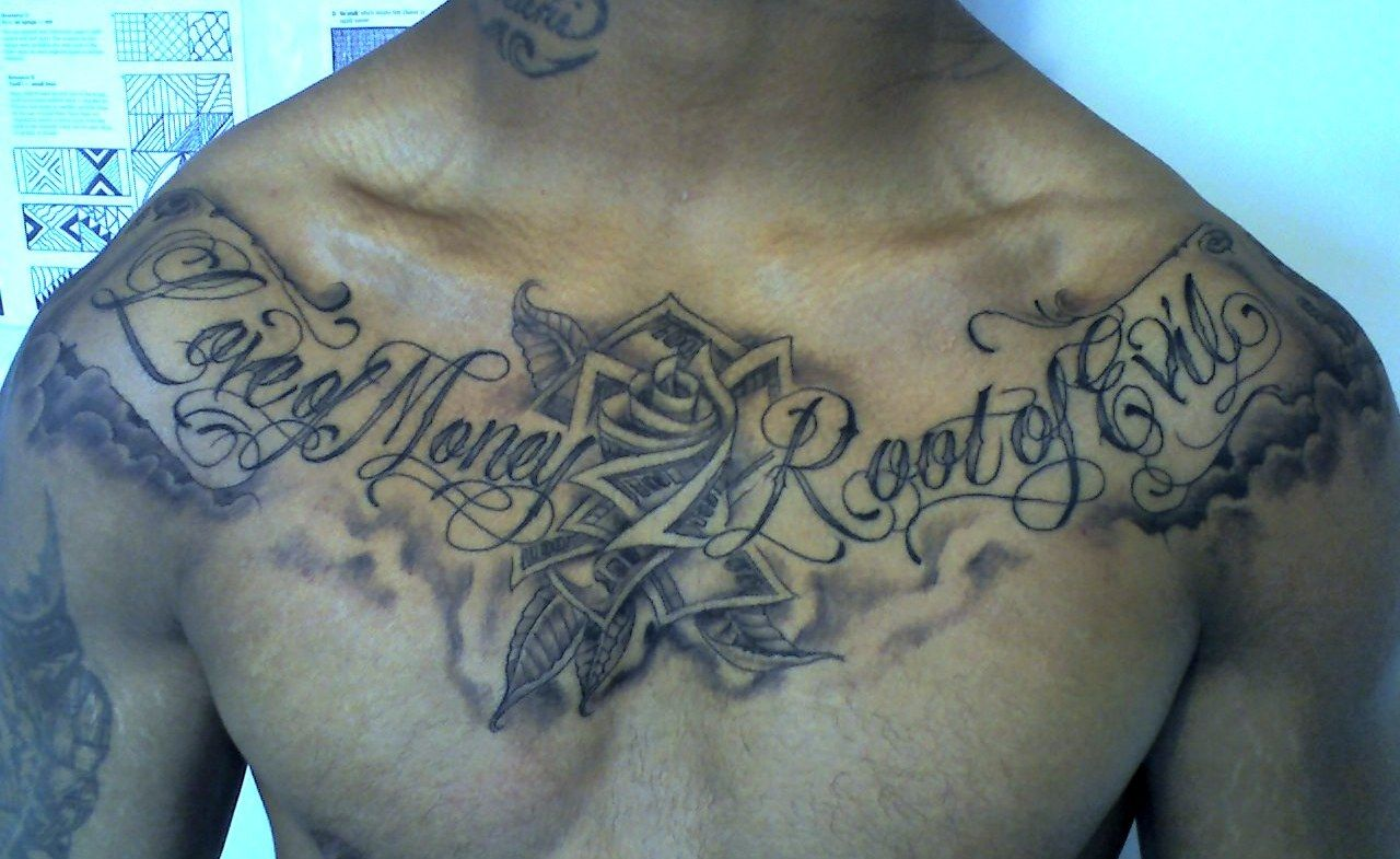Urban Kupesi Tattoos For The Love Of Money Is The Root Of All Evil