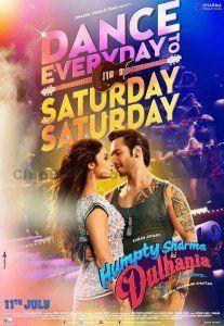 """Humpty Sharma Ki Dulhania """"Saturday Saturday"""" Full HD Video"""