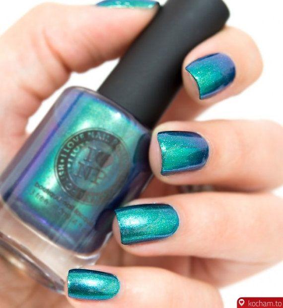 Kocham.to - Metaliczny lakier do paznokci | Kosmetyki | Pinterest