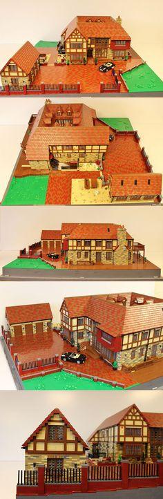 Mock Tudor House | Legos and Lego