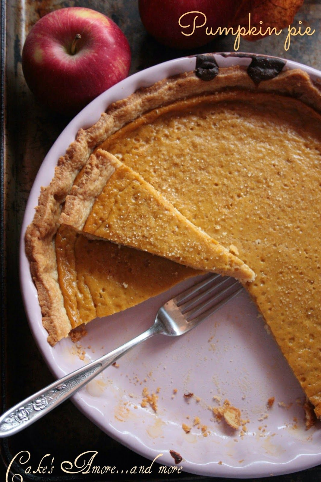 Cake's Amore......and more: Pumpkin Pie