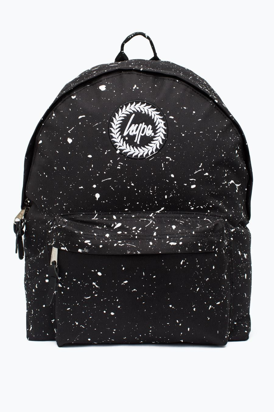 Hype Black With White Speckle Backpack  12a87bebbb4e3