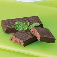 Chocolate Mint Bar With Chocolate Flavored Coating Mint Chocolate Mint Bar Protein Bars