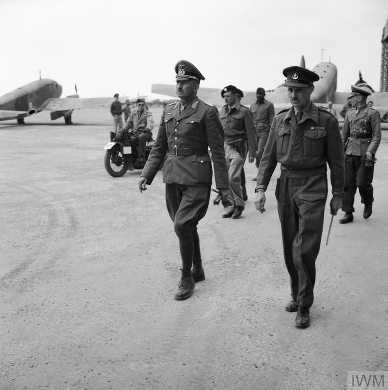 General J Von Arnim, Commander Of The German Forces In