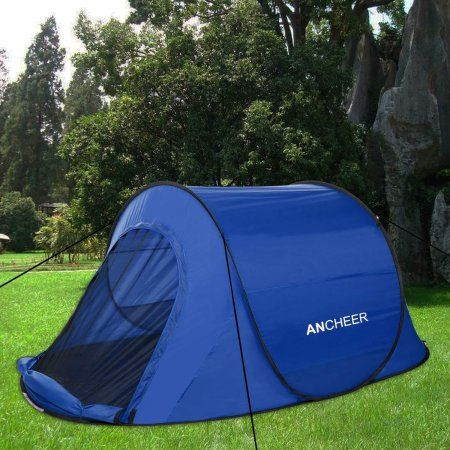 Automatic Camping Tent Pop Up Easy Fold Shelter Tent Instant Setup