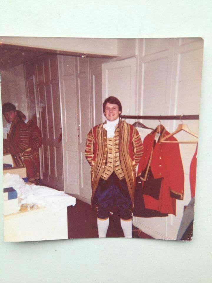 Greg Manning long time ago.  Buckingham Palace