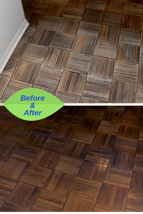 Buff Coat Also Refinishes Parquet Floors Parquet Flooring Refinishing Hardwood Floors Refinishing Floors