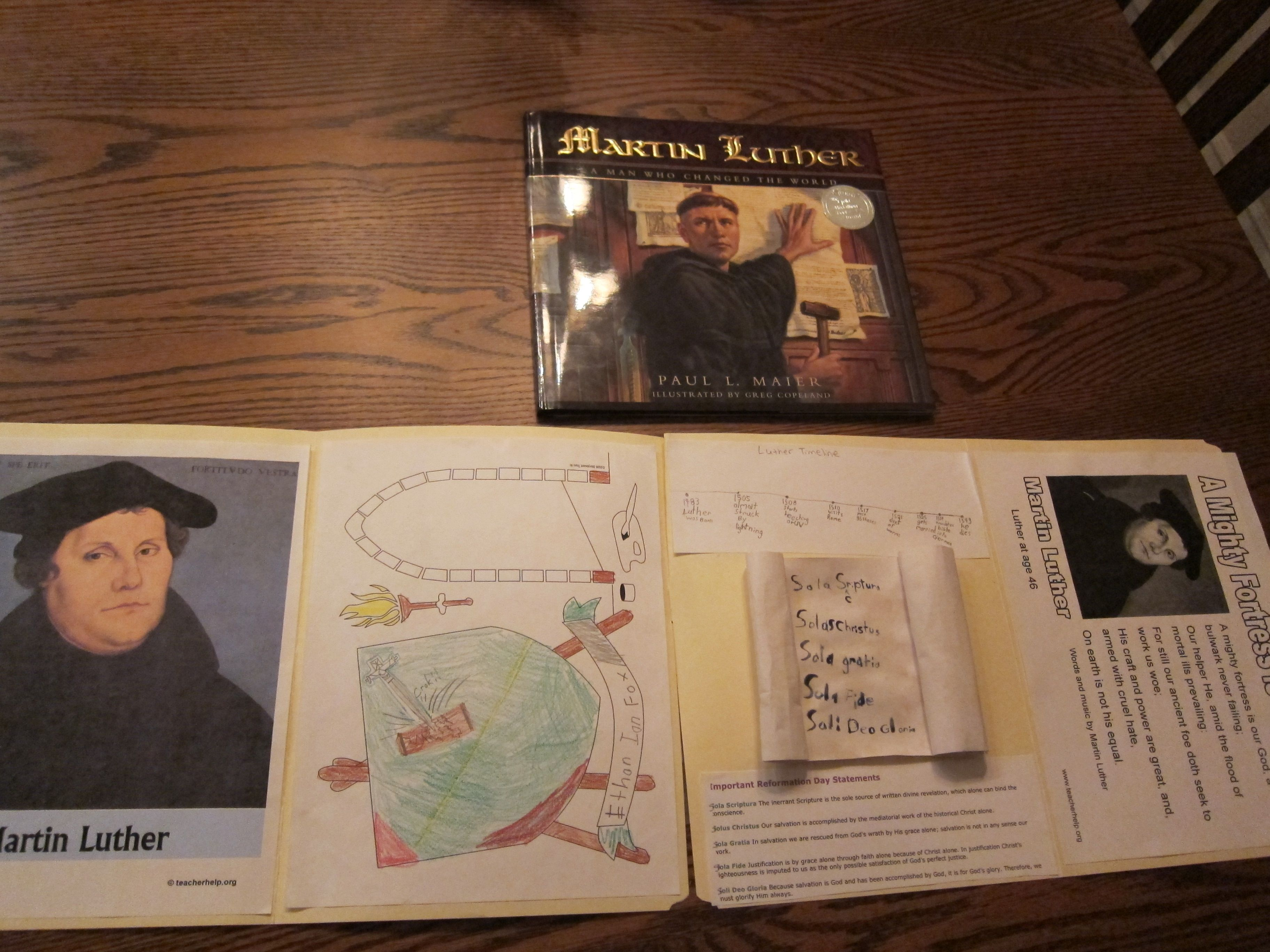 Reformation Activities And Kid S Books