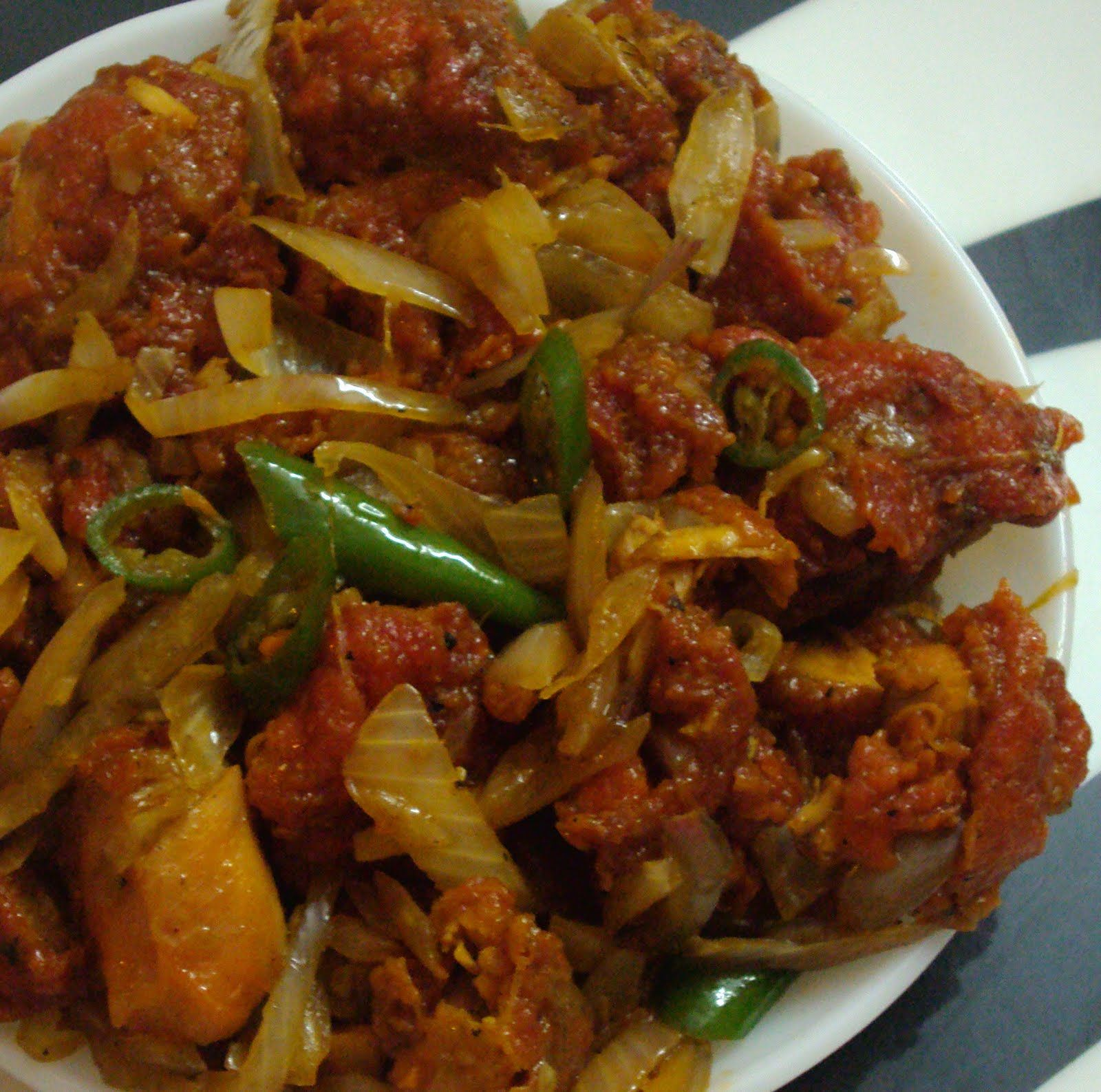 Tasty Appetite: Hot n Spicy Chilly Chicken
