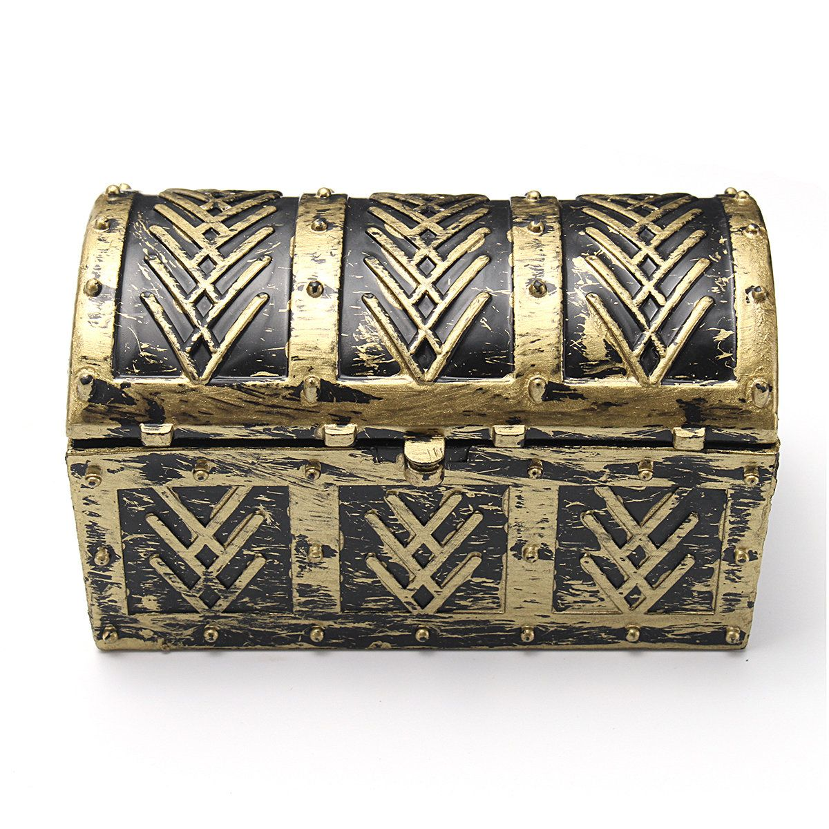 Vintage Pirate Jewelry Storage Box Holder Treasure Chest Gift Box