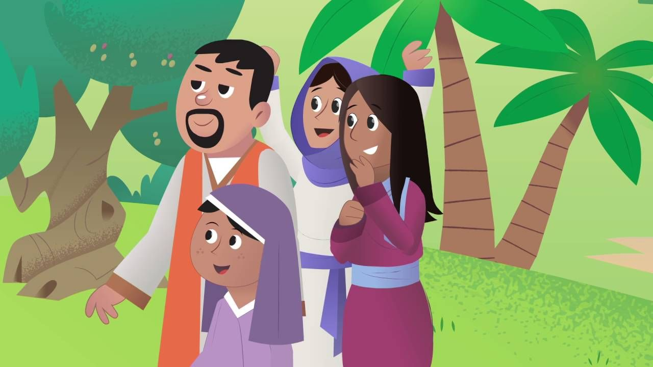 Bible App for Kids Donkey and a King (Passover) https