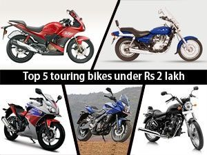 Top 5 Touring Bikes For Under Rs 2 Lakh Page 1 Touring Bike