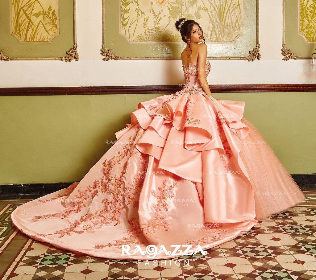 Ragazza Collection B86 386 15 Años Vestidos De Vestidos