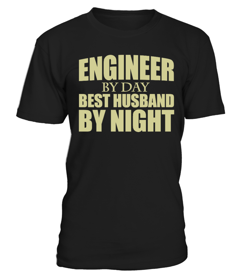 Engineer by day, best husband by night - Round Next Unise, Colors Option.