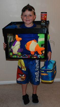 Sharkbait ooh ha ha holiday stuff pinterest homemade do it yourself halloween costumes for kids fish tank aquarium solutioingenieria Images