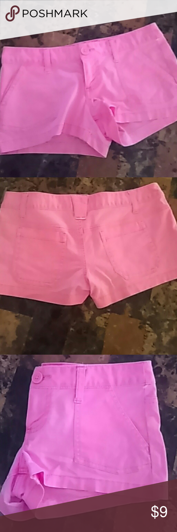 Mossimo Supply Co Light Hot Pink shorts in great condition Size 1 Mossimo Supply Co. Shorts Skorts