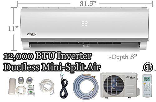12 000 Btu Innova Ductless Mini Split Air Conditioner Inverter