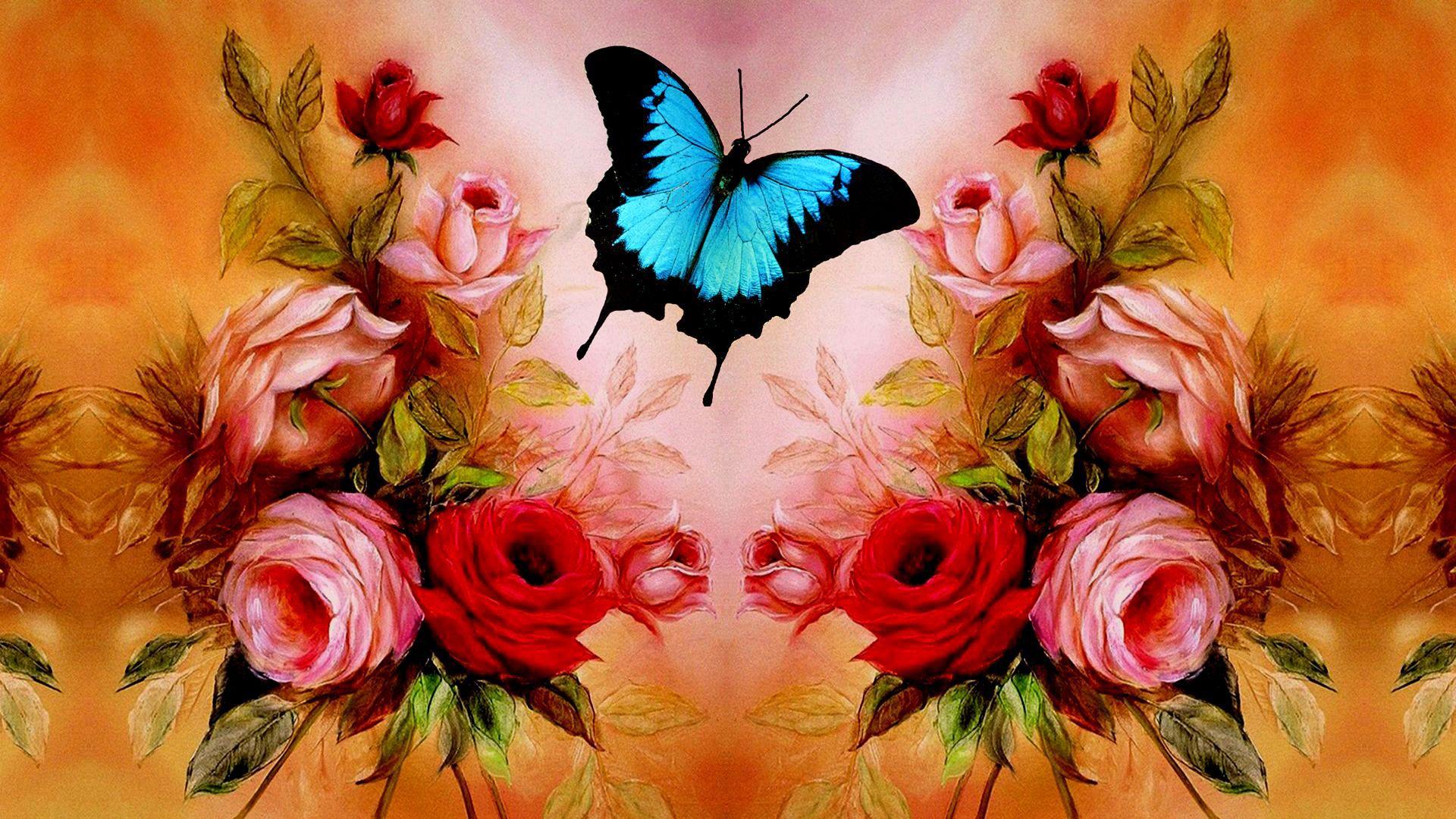 Wallpaper Roses