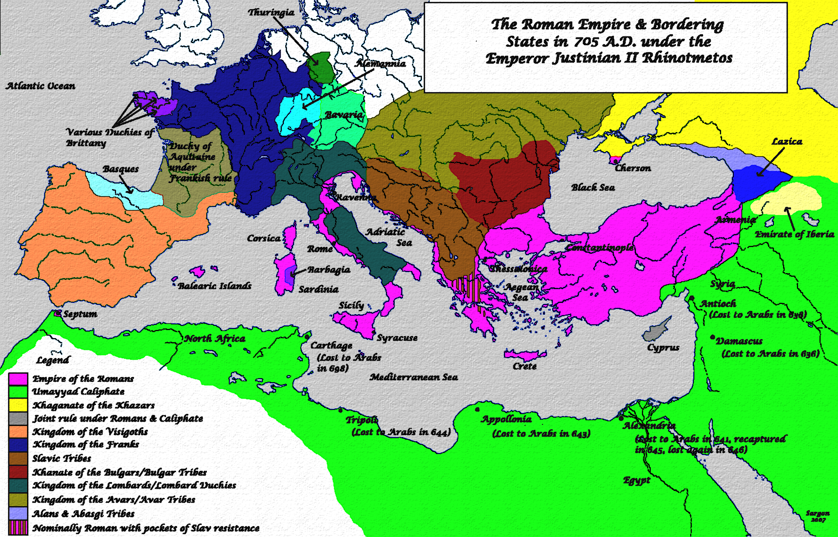 Roman empire dates
