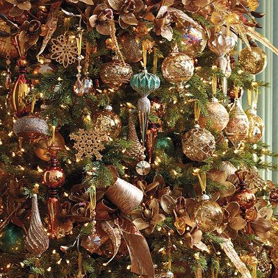 60-pc. Golden Splendor Ornament Collection