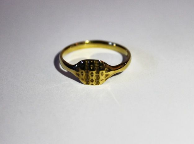 My 3D Printed Triss Ring available to purchase from my Shapeways Store in a range of sizes and materials
