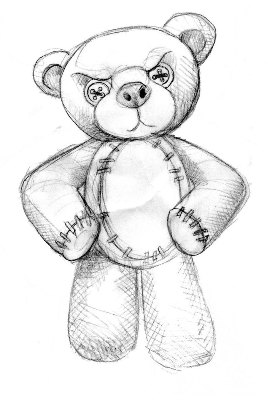 teddybear sketch My name is jason doherty I am a