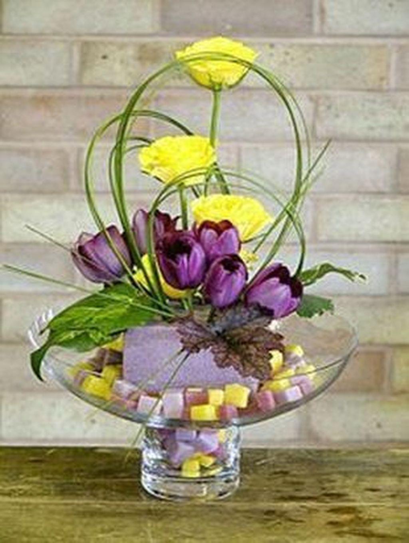 30 beautiful modern flower arrangements design ideas