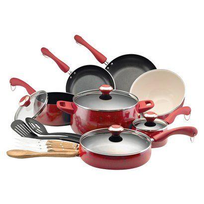 Paula Deen 18pc Cookware Set 119 99 At Target Cookware Set