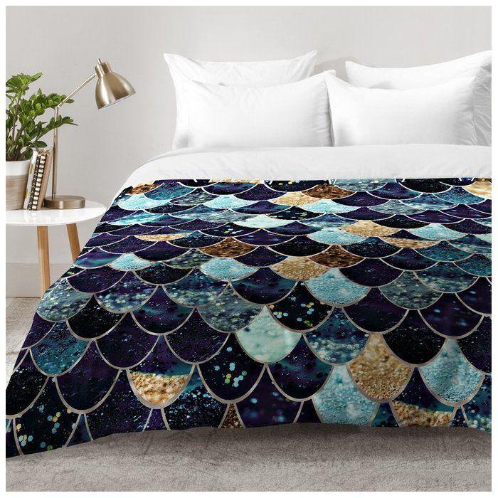 Mermaid Mystic Comforter Set Comforter sets, Mermaid