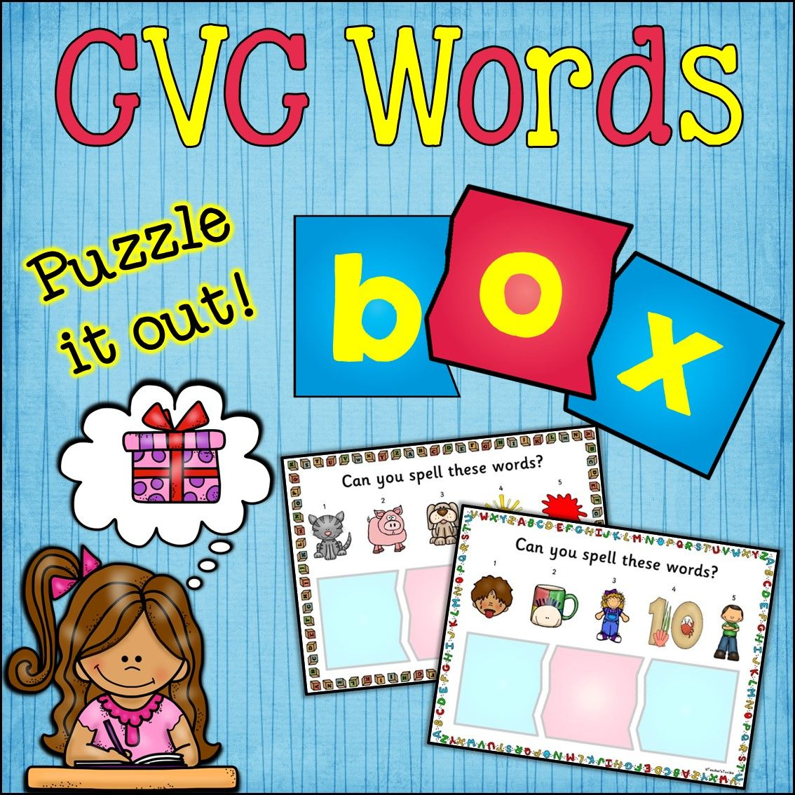 Cvc Words Learning Stations