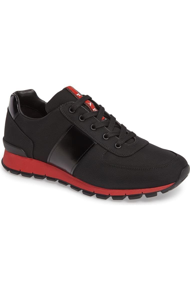 Prada Linea Rossa Runner Sneaker (Men