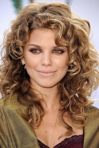 Celebrities With Curly Hair A List Girls With Curls