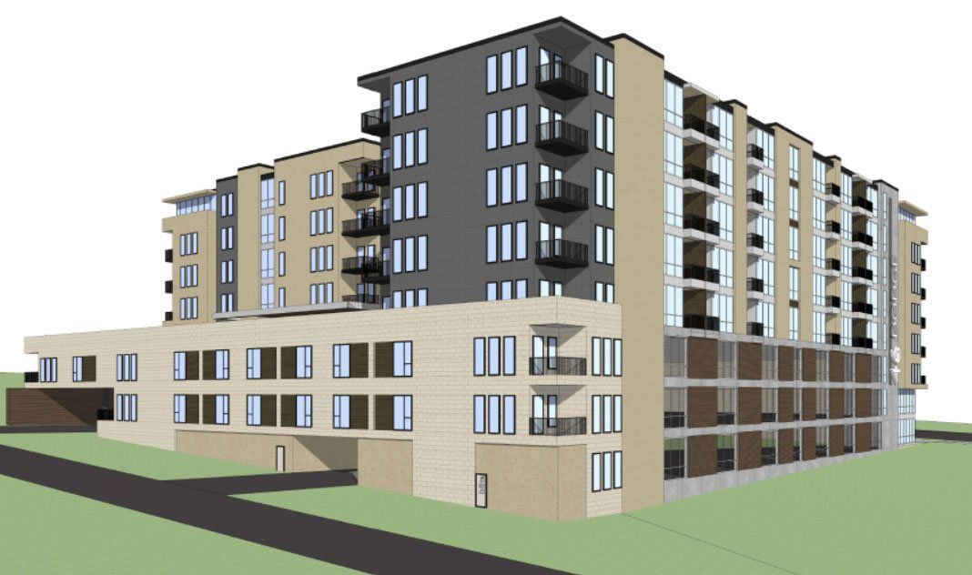 Developer Plans 8 Story Building With 278 Apartments On Dodge Says Unmc Is Creating Demand Money Omaha Com Building Apartment Projects Apartment Building