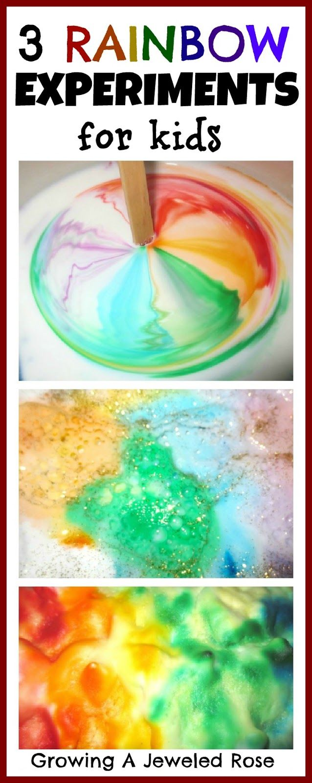 car thru color paint. drive on paper to make rainbows Puddle ...