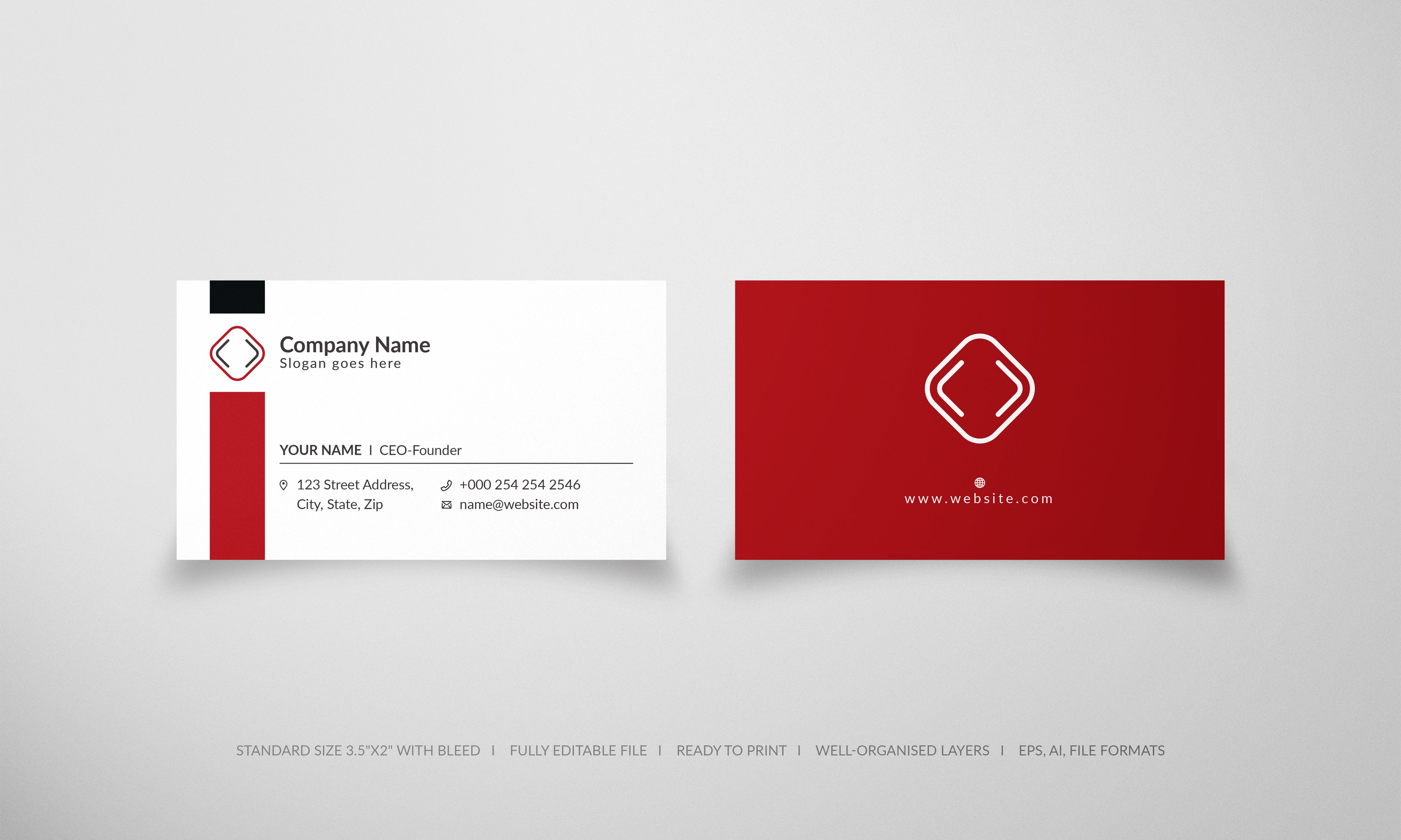 Free Business Card Templates Free Business Card Templates White Business Card Vector Business Card