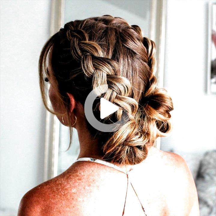 #black braided hairs