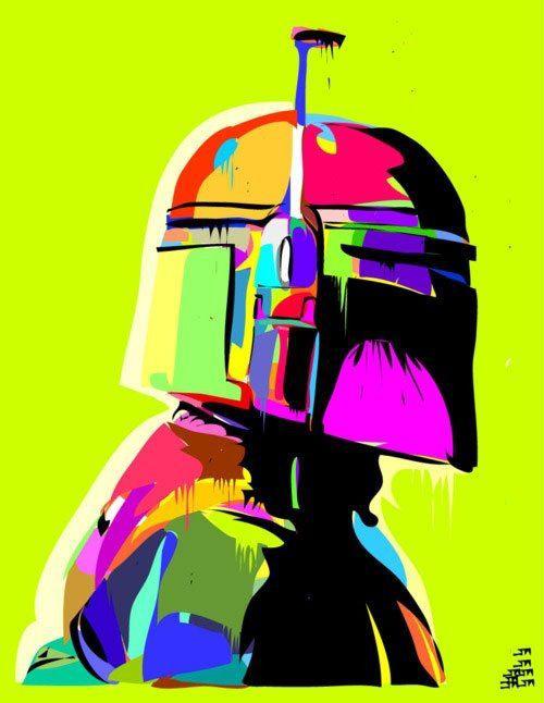 Star Wars art starwarsspraypaintart (star wars spray