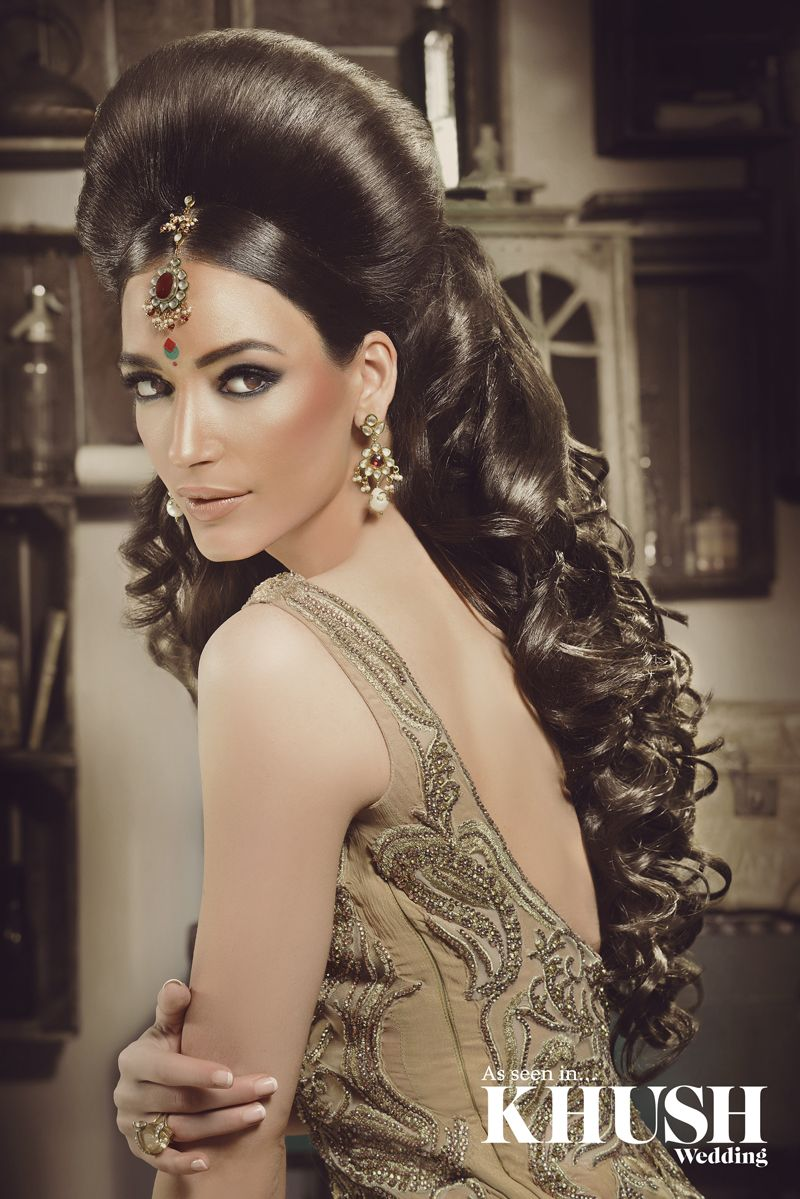 yet another jaw dropping hair style by the talented saira rahman