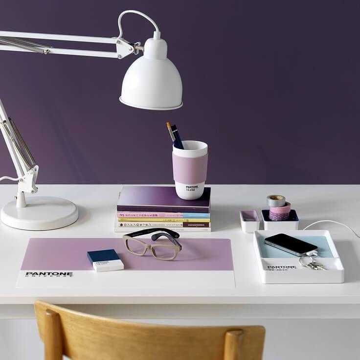 see 2018 interiors in visionary ultra violet pantone on home office color trends id=84686