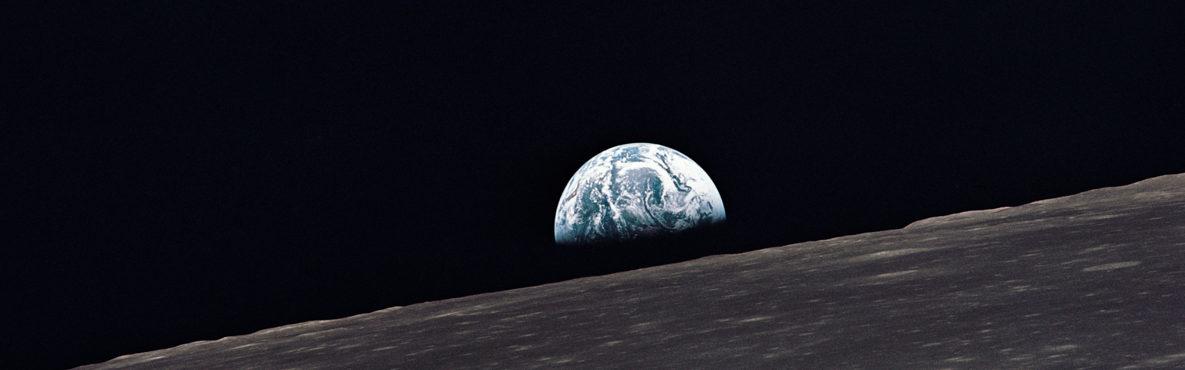 earthrise | dual monitor wallpapers | pinterest | monitor