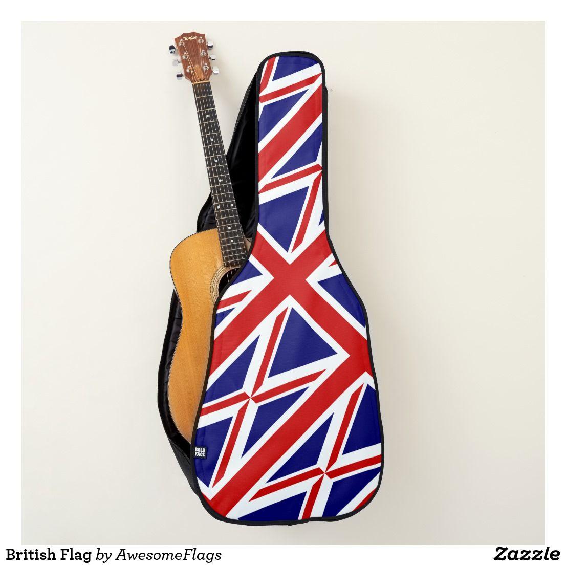 British Flag Guitar Case British Greatbritain Uk Guitarcase Flag Unionjack Yamaha Guitar Guitar Yamaha Guitars Acoustic