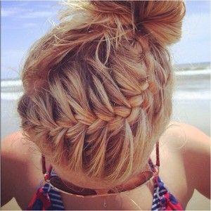hair   braided hairstyles hair styles braids for